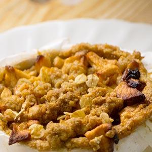 Glutenvrije Appelkruimel Gebakjes